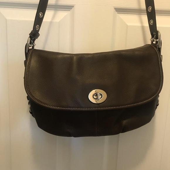 Coach Handbags - COACH Brown leather purse